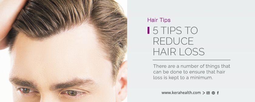 5 Tips to Reduce Hair Loss
