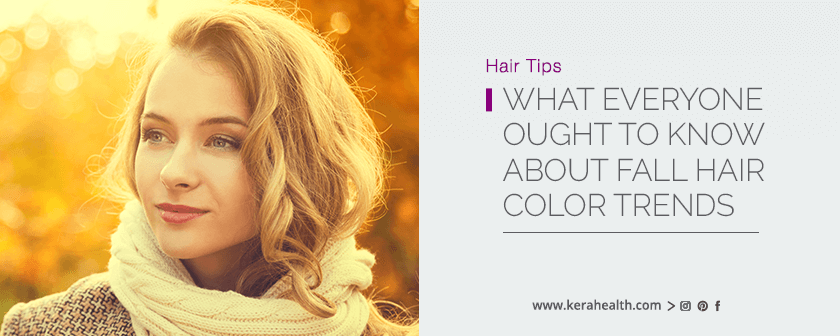 What Everyone Ought To Know About Fall Hair Color Trends