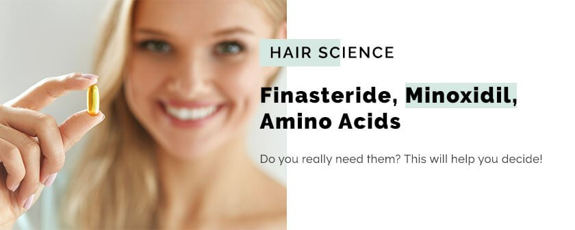 Do You Really Need Finasteride, Minoxidil, Amino Acids
