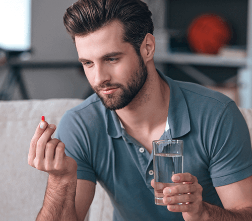 Keratin supplements for men