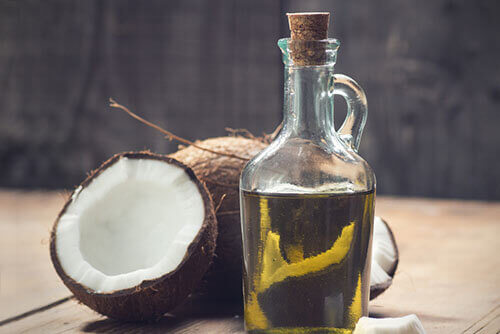 Cocunut oil for hair