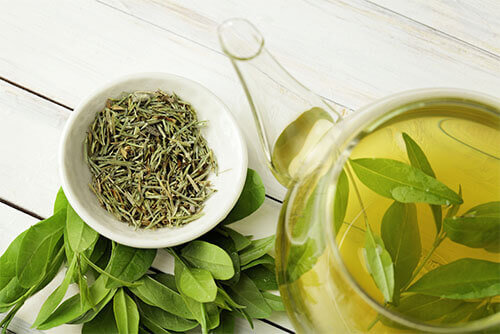 benifits of green tea for hair growth