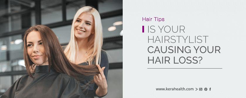 Tips to stop hair loss
