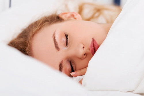 Safe sleeping helps hair growth