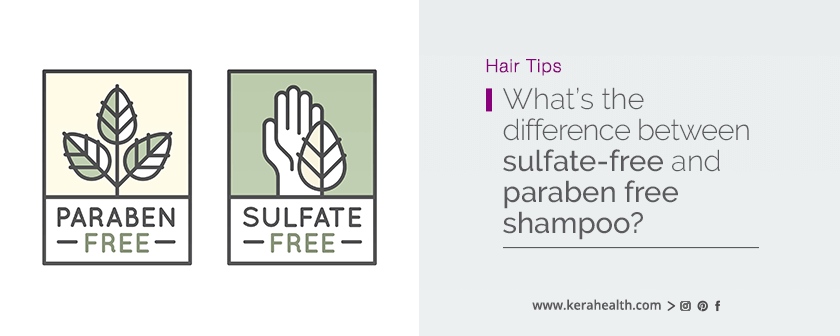 sulfate-free vs paraben free
