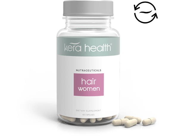 KeraHealth Hair Vitamins for women - Monthly subscription