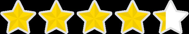 Amazon star rating - 4.2