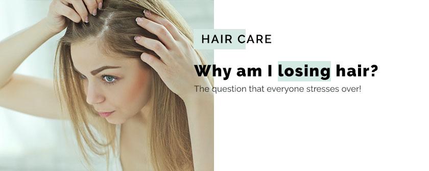 Why am I losing hair?