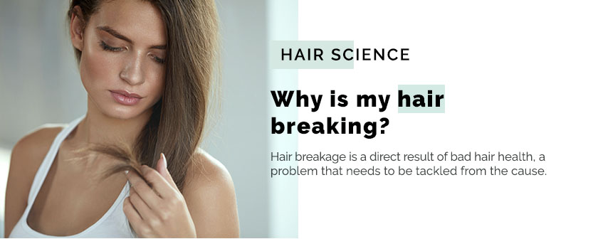 hair breaking