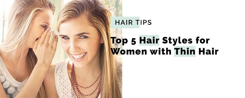 Top 5 hair thinning hairstyles for women