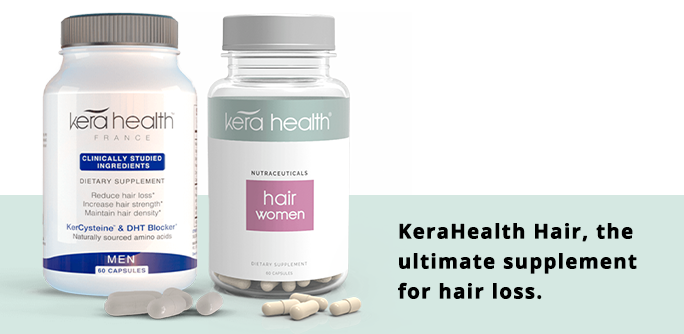 KeraHealth Hair, the ultimate supplement for hair loss