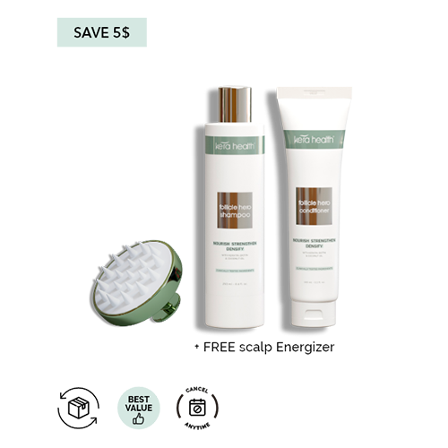 KeraHealth Follicle Hero Shampoo and Conditioner - Monthly Subscription