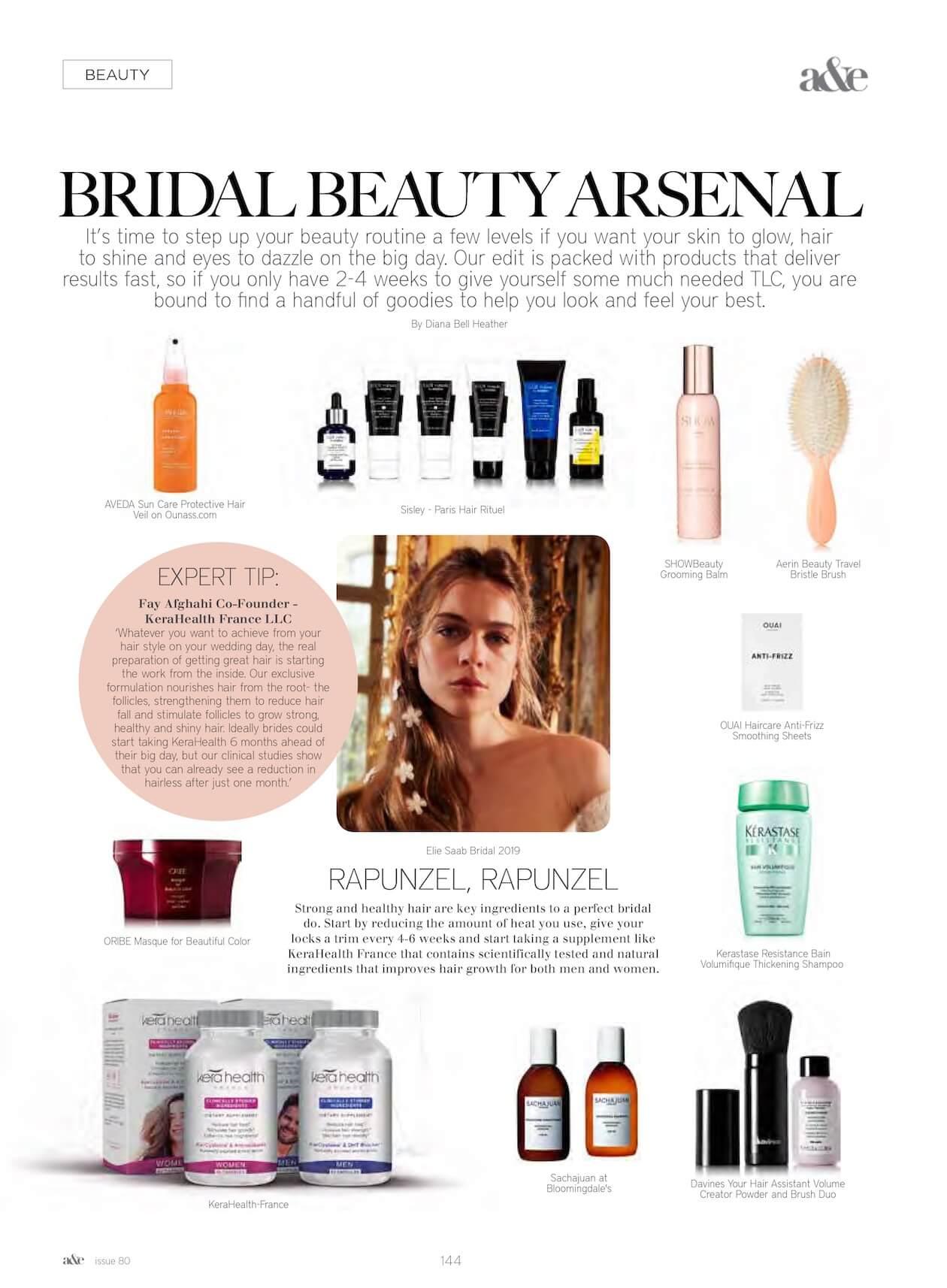 Bridal beauty arsenal
