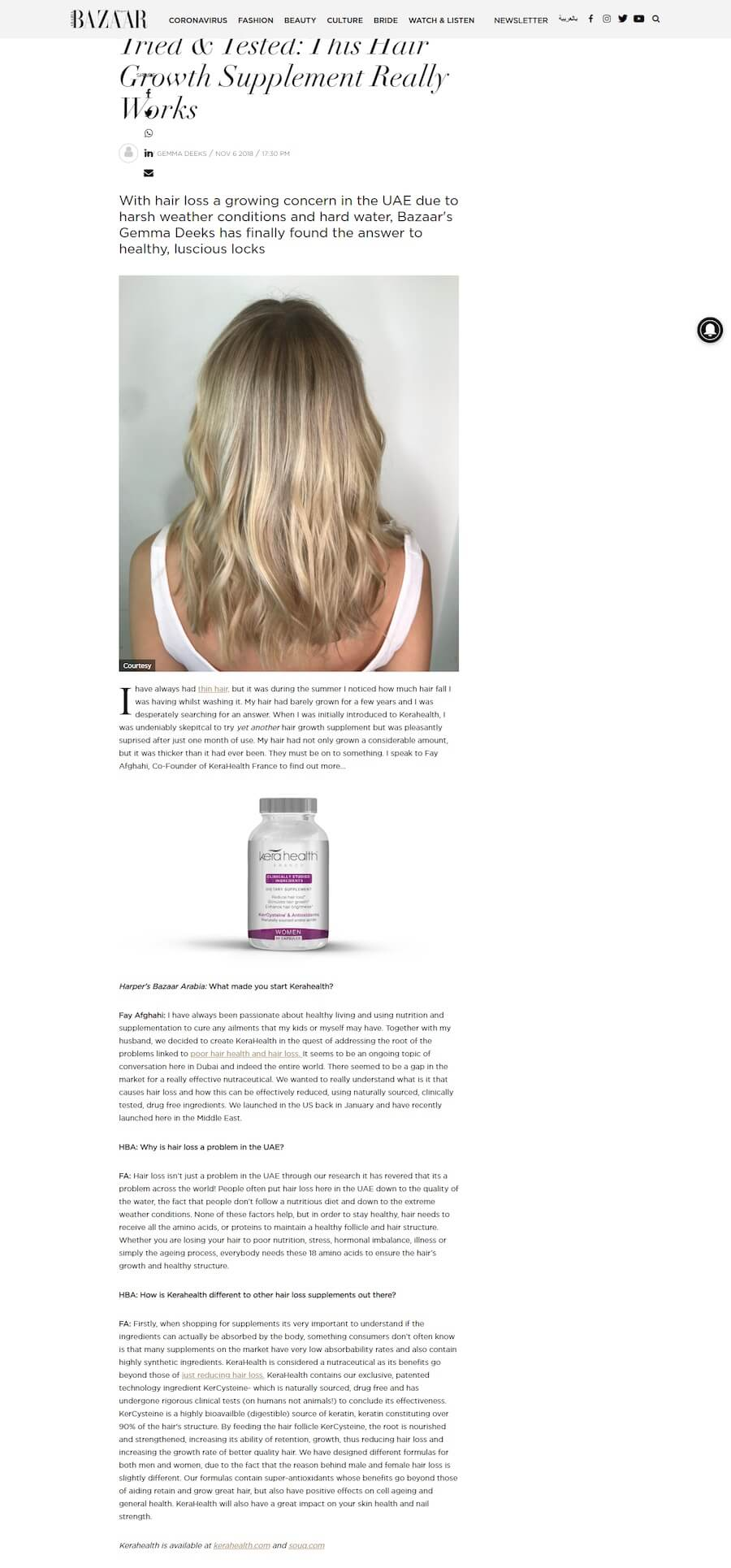 Tried & Tested: This Hair Growth Supplement Really Works