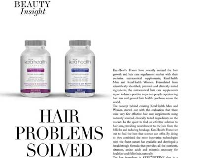 In the press – Hair problems solved