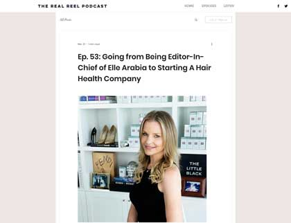 In the press – Going from Being Editor-In-Chief of Elle Arabia to Starting A Hair Health Company